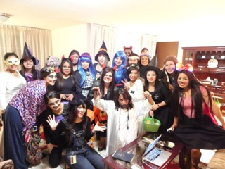 Sister Missionaries  Halloween 2014   Mexico City