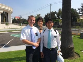 Elder Harper (He's the one on the left)