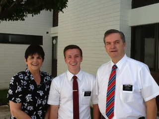Elder Walker from Idaho Falls