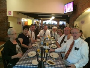 Elder Anthony's Birthday party at Italianis.
